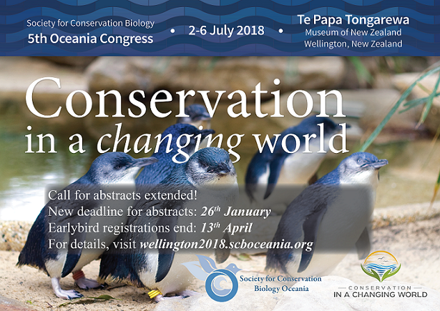 Abstract deadline for #SCBO2018 EXTENDED to 26th January