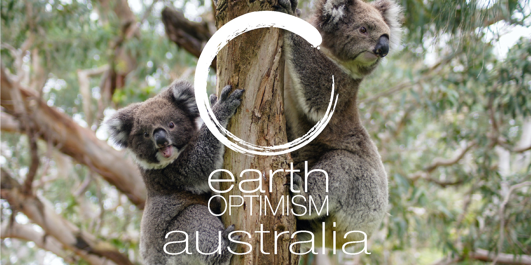 A special message from the Earth Optimism Alliance